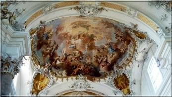 Abbaye Ottobeuren plafond