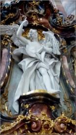 Abbaye Ottobeuren statue ange et angelot