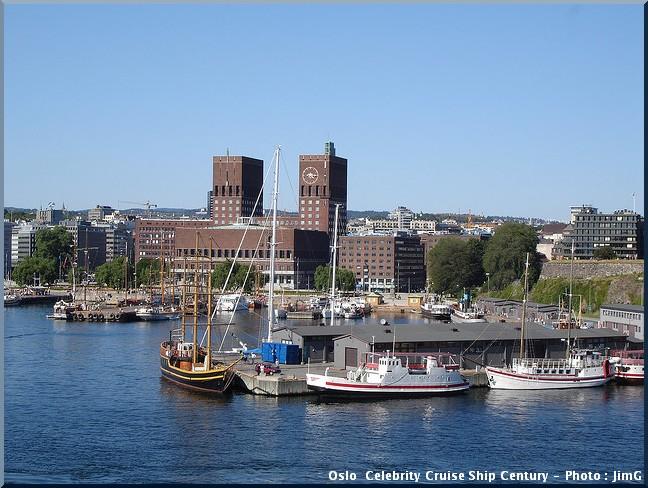 Oslo Celebrity Cruise Ship Century