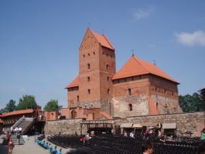 Trakai interieur chateau lituanie