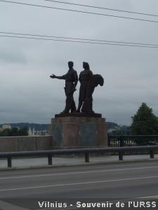 Vilnius souvenir URSS