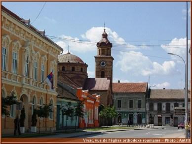 Vrsac eglise orthodoxe roumaine