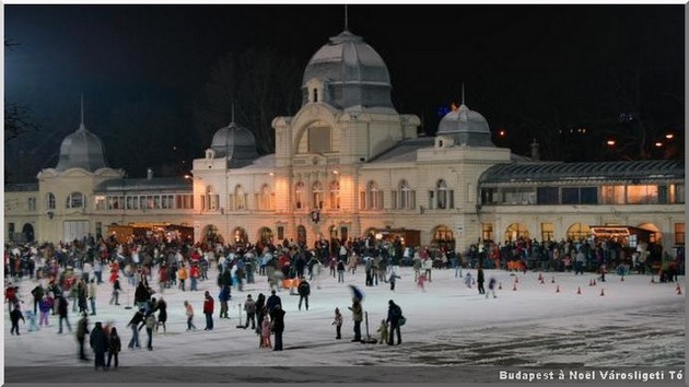 budapest patinoire hiver