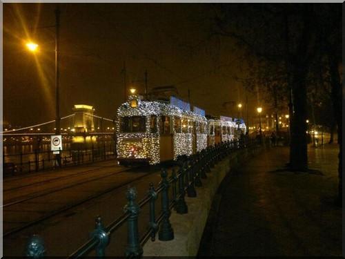 budapest tramway noel