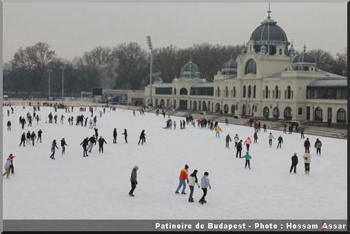 noel budapest patinoire