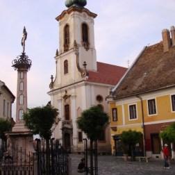 szentendre croix et eglise