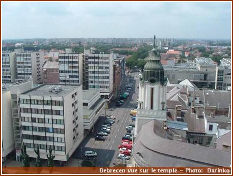 Debrecen látképe