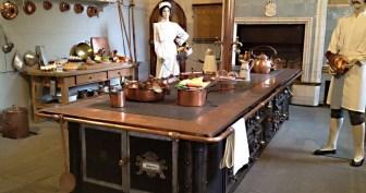 cuisine vaisselle Chateau Hohenschwangau