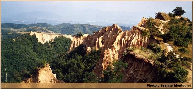 Melnik montagnes bulgarie