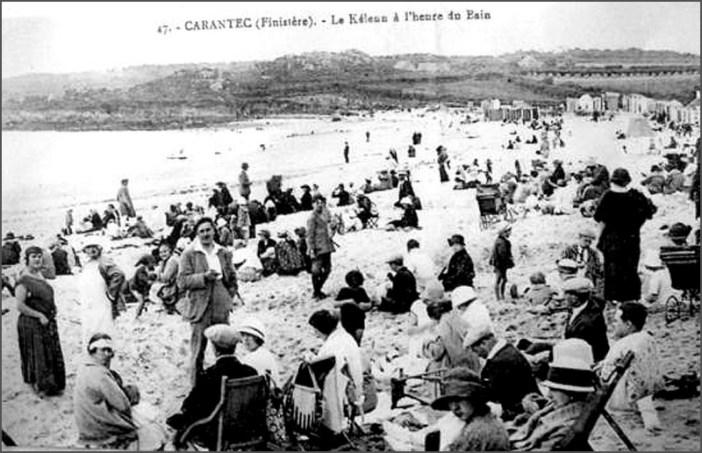 carantec-musee-maritime-plage-kelenn-debut-20eme