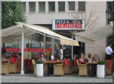 pizza coloseum prague