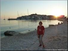 primosten croatie depuis la plage