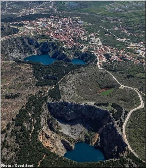 lacs imotski croatie
