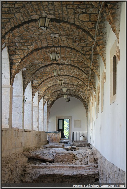 monastere sainte marie mljet cloitre