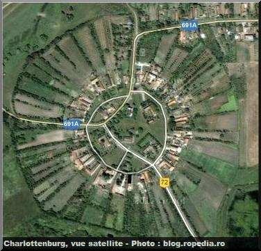 charlottenburg vue satellite