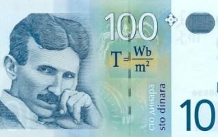 100 dinars serbes