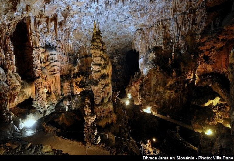 Divaca Jama grotte de divaca en Slovénie