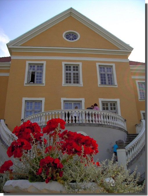 Facade Manoir Palmse Estonie