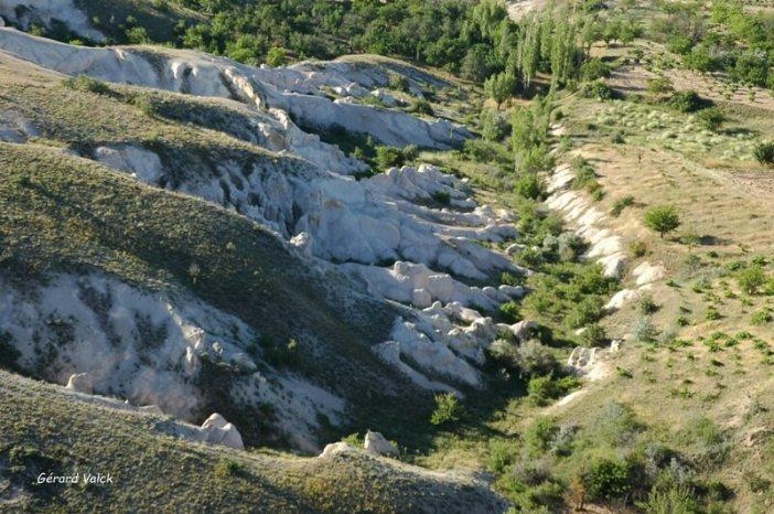 Formations géologiques de Cappadoce