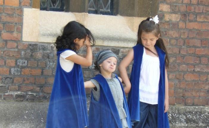 Hampton court visite avec des enfants