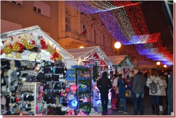 Marché de Noël de Zagreb