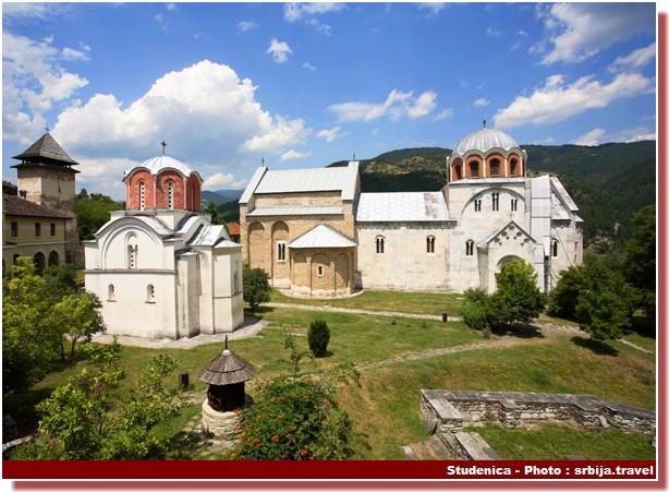 Monastere Studenica Serbie