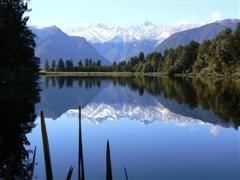 beau paysage montagne