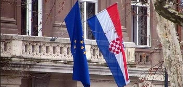 croatie union europeenne drapeau