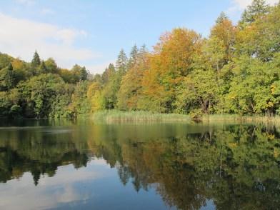 parc plitvice automne