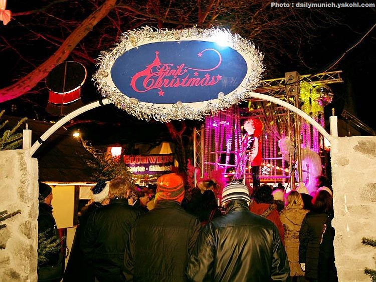 Pink Christmas Munich Märkte: Marché de Noel de Munich gay et lesbien 1
