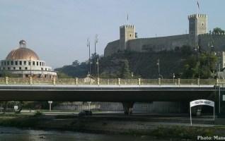 skopje forteresse et vardar