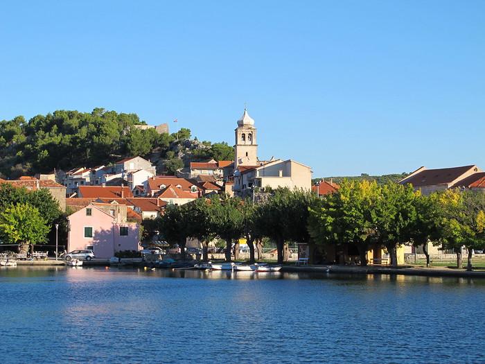 une semaine en dalmatie en bus skradin croatie