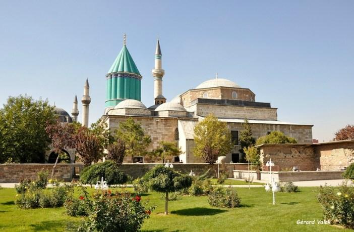 visiter konya mausolee mevlana