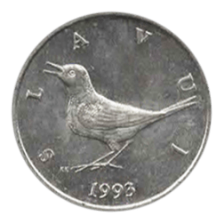 1 kuna piece monnaie croate