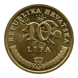 10 lipa monnaie croate