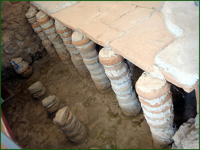 Arménie Hypocauste romain de Garni