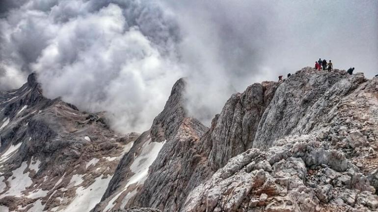 Ascension du Triglav en Slovénie