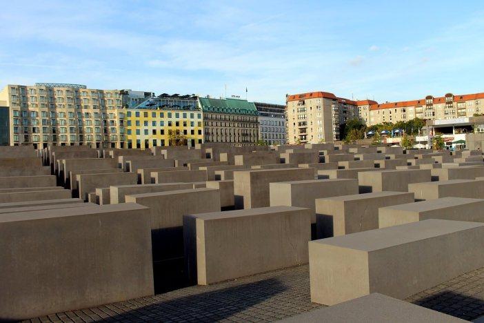 Berlin mémorial aux juifs d'Allemagne