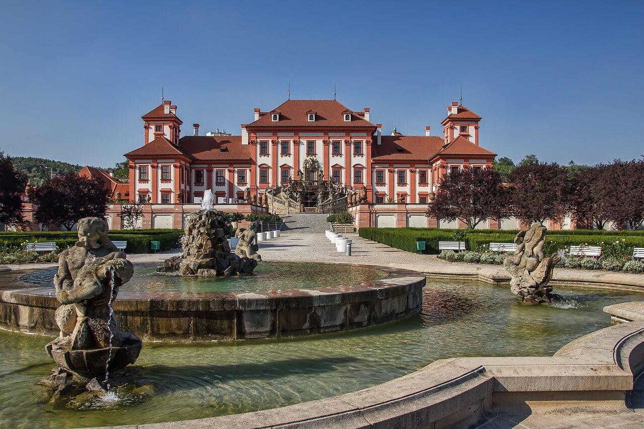Chateau Troja à Prague