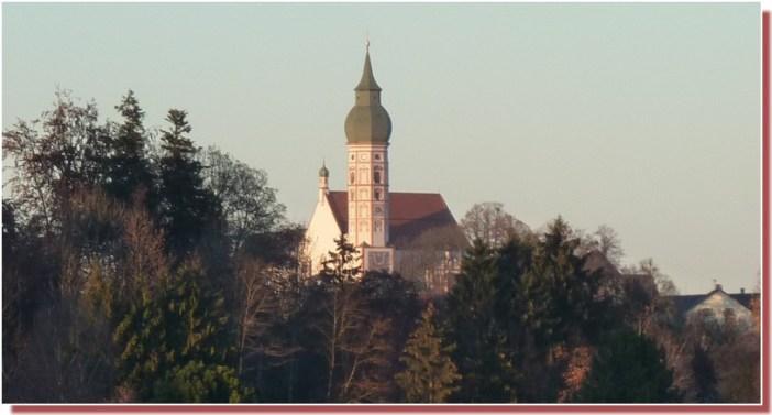 Clocher Abbaye Andechs Allemagne