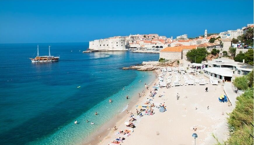 Dubrovnik Plage de banje