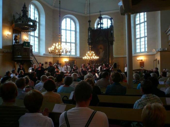 Eglise Parnu concert