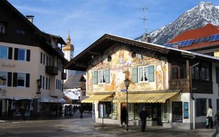 Garmisch Partenkirchen en Haute Bavière