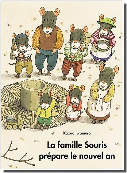 Kazuo Iwamura la famille souris prépare le réveillon