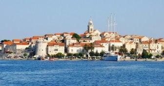 Korcula croisière en voilier sur l'Adriatique