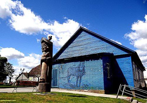 Lituanie maison de Veliuona