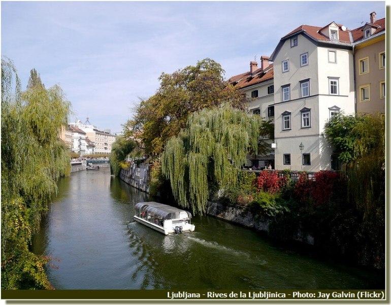 Ljubljanica à Ljubljana