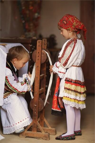 Maison Ethno de Zagreb costumes traditionnels