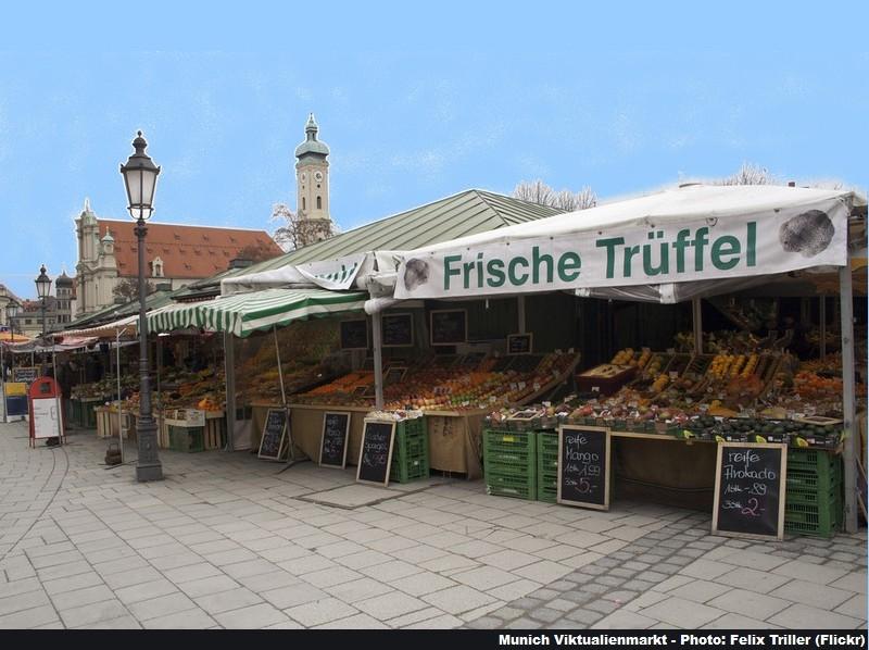 Munich Viktualienmarkt