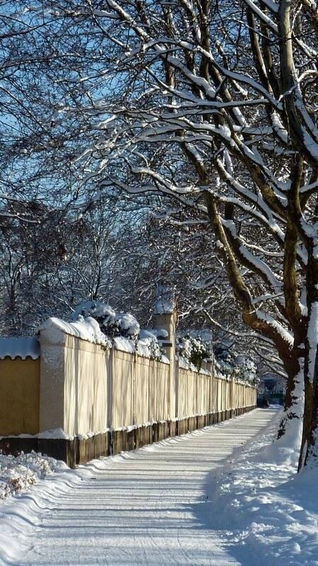 Mur extérieur du cimetière Muenchen Westfriedhof